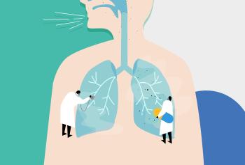 폐암클리닉 배경